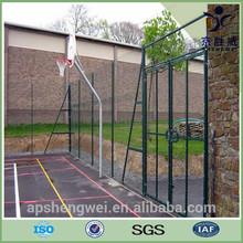 6ft x7ft powder coating bending metal modern gates design and fences