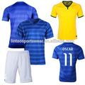 Player Version 2014 neueste entfernt blaue #11 oscar brasilien trikot