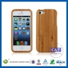 Unique style for bamboo iphone 5s case