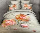 cotton material queen size multile bedding set luxury 3d bed cover set bedding sets home textile