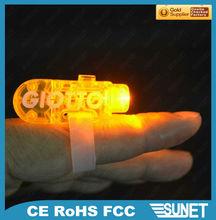 SUNJET wedding quality logo printing led light fingers