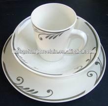 12pcs ceramic crockery dinnerware/glass crockery