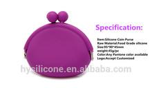 washable lady fancy cheap price mini fashion silicone purse