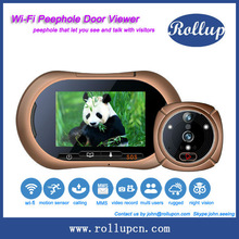 2014 wifi peephole viewer,analog to ip camera converter,wifi smart home products