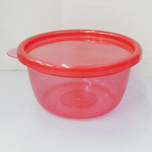 Transparent Round storage box/Food box Round Box/Baby bowl