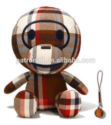 Plush toy monkey/Soft stuffed sleeping dog/ soft plush animal toys