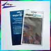 clear window plastic ziplock mobile phone accessories bag