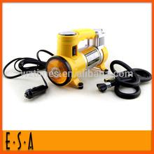 High power motor pump;Pump with light metal car; high bar car tire inflator pump T300006