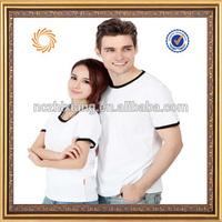 new design shirts 2013 couple tshirts manufacturer plain white tshirt