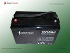 12v gel batteries 12v 100ah lead acid deep cycle solar battery