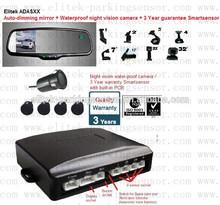 """Per"""" cadillac"""" ad alta risoluzione di backup vista posteriore audo oscuramento mirror+ camera+parking sistema di sensori"""