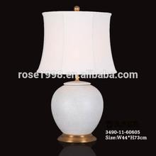white porcelain lobby lamp for table