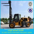 Carrello elevatore ton con 3,5 4m altezza di sollevamento, ce joystick di controllo diesel carrello elevatore 3 ton