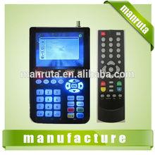 famous model hd dvb-s2 mpeg4 digital satellite finder meter MH1108 model from factory