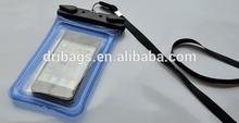 Ultimate 100% waterproof protection Triple Ziploc Roll Seal digital waterproof camera/cell phone pouch