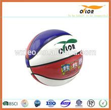 PVC PU rubber cheap basketball