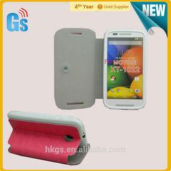 Cheap Price For Motorola For Moto E XT1022 Book Flip Leather Mobile Cover Case