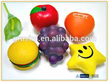 Custom shape&design PU foam antistress ball