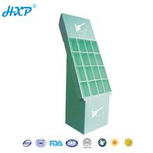 Cardboard box 3-Layer E-Flute Flexo Free Standing Floor Display Book Shelf