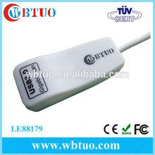 RJ45 gigabit lan 1000 Mbps ethernet network adapter Usb 3.0 network adapter for ipad