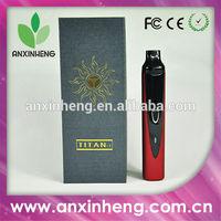 2014 herbal atomizer vaporizer pen e cigarette titan mod vape in stock