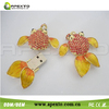 8gb new style usb stick sparkling yellow goldfish Jewelry usb flash drive