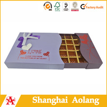 chocolate paper box package supplier