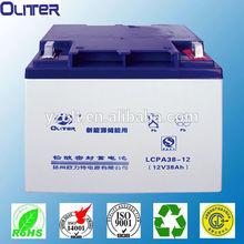 lead acid battery AGM security battery 12V38ah