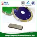Segmento de diamante/piedra de diamante herramienta de corte del segmento/hoja de sierra circular( ofrecer la muestra)