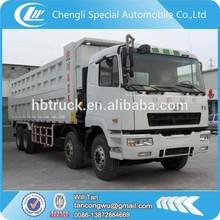 CAMC 8x4 heavy duty 40 ton self loading dump truck for sale