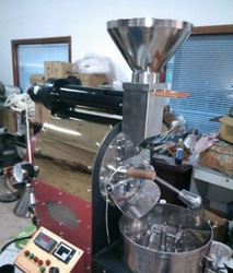 China Hot Sale Automatic Gas Commercial Coffee Bean Roaster