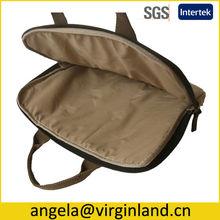 "Fancy Durable Canvas Carrying 13"" Laptop Sleeve Case for asus Bag -Khaki Color"
