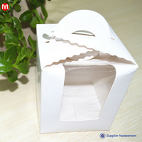 high quality cupcake boxes transparent cake box