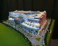 Hotel layout escala modelo/hotel modelo em miniatura/modelo arquitetônico fazendo