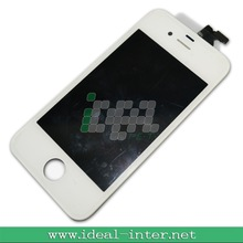 For iphone 4 transparent lcd & digitizer assembly ,replacement lcd for iphone 4