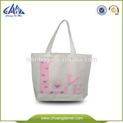Good quality cotton extra heavy canvas bag plain tote bag