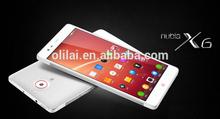 Original ZTE Nubia X6 Android 4.3 4G Smartphone 6.4inch 1920x1080P MSM8974AB Snapdragon 2.3GHz 13.0MP 2G RAM 16G ROM GPS 4G LTE