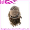 100% غير المجهزة البرازيلي أمام عذراء الشعر شعر مستعار الدنتلة الإنسان سوبر موجة الشعر المستعار للمرأة السوداء