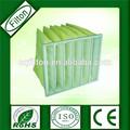 tipo de bolsa de filtro de aire g4 f5 f6 f7 f8 fabricación en china