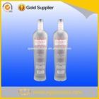 750ml decorative glass liqueur bottle display