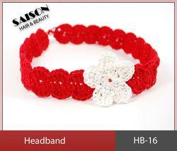 trendy crochet infant flower headband