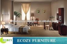 Hotel room furniture wooden bed frame