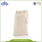 white cotton canvas drawstring shoe bag for wholesale