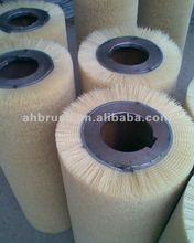nylon abrasive wire/ steel wire brush grinding wheel industrial abrasive nylon brushes are excellent for light deburring