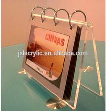 Top Popular acrylic acrylic desk calendar handicraft
