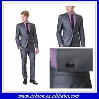 BS-095 Custom made suit slim fit suit men three piece suits