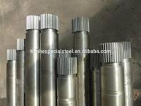 4140 forged Alloy Steel Spline Shaft