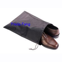 Customized Drawstring Polyester / Non-woven Shoe Bag