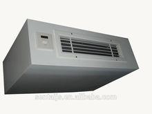 Side wind type vertical fan coil unit