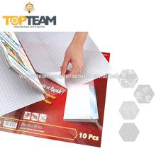 PVC Self Adhesive Transparent Embossed in Sheets